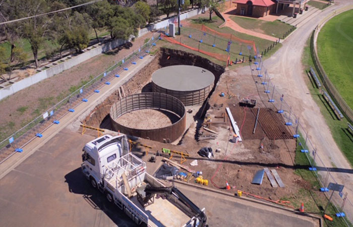 Tamworth Regional Council Bicentennial Park And Regional Playground Precinct - Groundwater Irrigation System