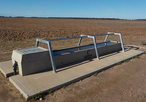 Troughs at AquaWest